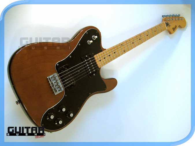 Vintage 1972 Ibanez Telecaster 2352 Electric Guitar Walnut with Super 70 pickup