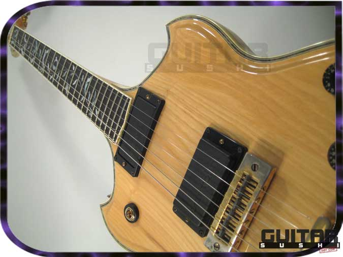 Vintage 1976 Ibanez Artist Professional 2681 Bob Weir Electric Guitar with Tree of Life Vine Inlays