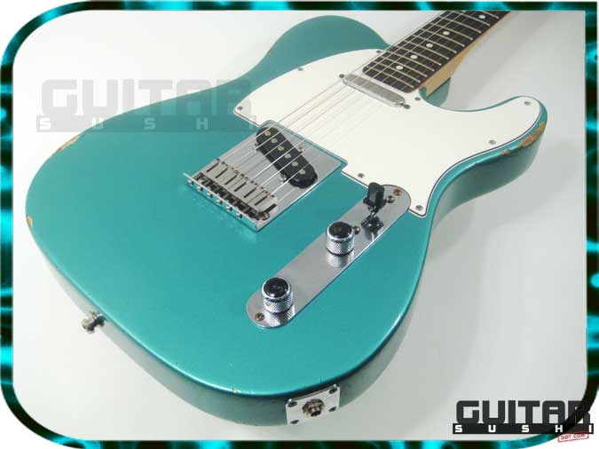 1993 Fender Telecaster - USA MADE - Turquoise Metallic Green Blue