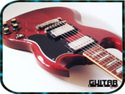 1986 Gibson SG '62 Reissue Electric Guitar with OHSC- MADE IN USA - Hardshell Case • Heritage Cherry • SG-62-HC • Nashville Plant • Humbucker Pickups • Tune-O-Matic Bridge [GUITARSUSHI.COM - Bring your Rock'N ROAR!!]